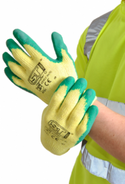 Unisex Handler Gloves with Latex Palm